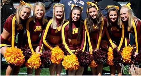 fan club friday hotties   big ten hot cheerleaders