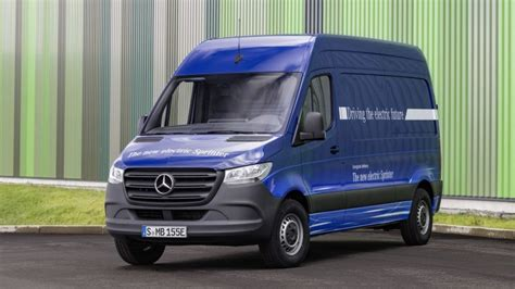 2020 Mercedes-benz Esprinter All-electric Cargo Van
