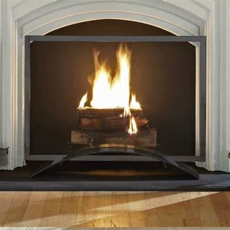 pleasant hearth orion fireplace screen ghp group