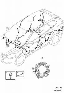 Volvo Xc60 Wiring Harness  Cable Harness Floor Section