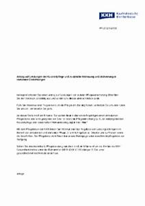 Rechnung Bei Krankenkasse Einreichen : leistungen der pflegekasse kkh kaufm nnische krankenkasse ~ Themetempest.com Abrechnung