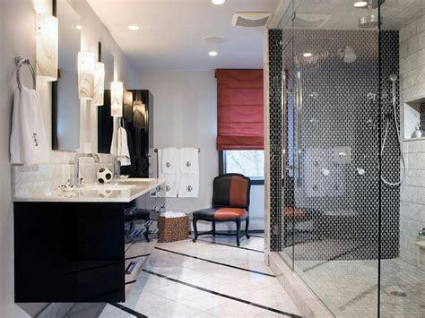 black and white restroom black and white bathroom designs bathroom ideas designs hgtv