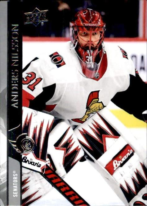 Nilsson, who appeared in 161 nhl games over seven seasons. Amazon.com: 2020-21 Upper Deck #381 Anders Nilsson Ottawa ...