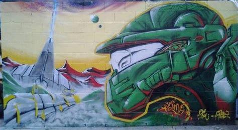 Graffiti Xbox Game : Jeux Vidéo Et Street Art Font Bon Ménage