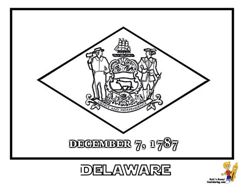 Pennsylvania State Flag Coloring Page Coloring Pages
