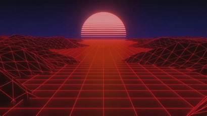 Aesthetic Wallpapers Vaporwave Synthwave Sun 4k Background