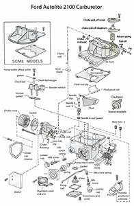 2100 Carburetor Exploded View  With Images