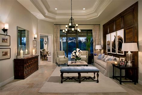 Florida Home Interiors by Two Model Homes By Marc Interior Design Inc