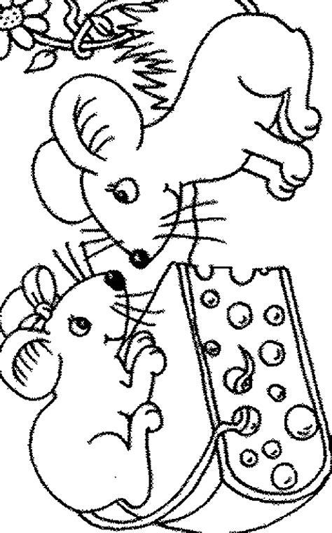 dessins de coloriage souris ps  imprimer