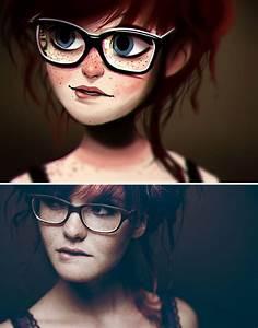 Artist Turns Photos Of Random People Into Fun ...