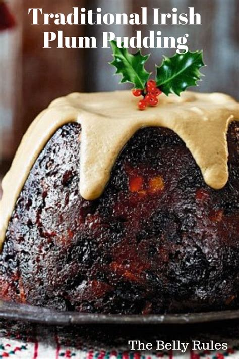 Forget the green food dye and make these traditional irish desserts instead! Traditional Irish Plum Pudding | Recipe in 2020 | Christmas cooking, Irish recipes, Christmas ...
