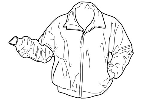 coloring page jacket img