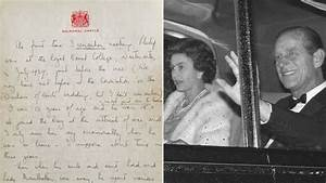 Queen's letter on how she and Prince Philip fell in love ...