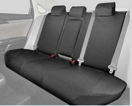 1618 Civic 4dr Rear Seat Covers 6040 Split Design Seat