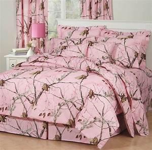 Girls, Realtree, Ap, Pink, Camo, Bedding, Comforter, Set