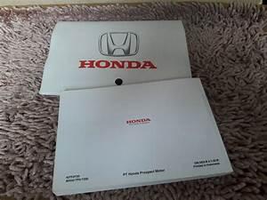 Jual Buku Pedoman Panduan Manual Book Honda Jazz Rs Di Lapak Izzan Izzani