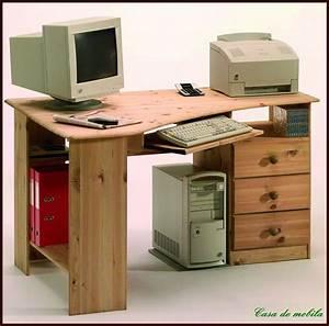 Eck Pc Tisch : schreibtisch pc eckschreibtisch eck computertisch holz kiefer massiv lackiert ebay ~ Indierocktalk.com Haus und Dekorationen