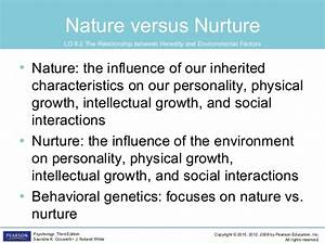 conclusion of nature vs nurture debate