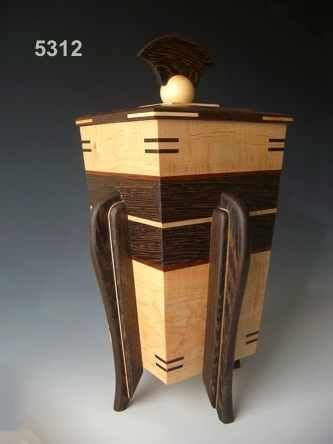 decorative wood cremation urns     burial urns      home wood