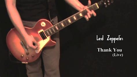 Thank You (live) Guitar Solo