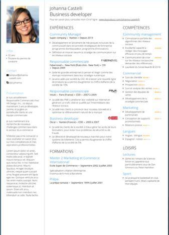 Réaliser Un Cv by Cr 233 Ez Votre Cv En Ligne Bureau Information Jeunesse De Brest