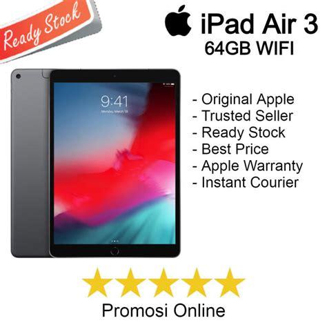 "Jual Apple iPad Air 3 10 5"" Inch 64GB WIFI 2019 KASKUS"