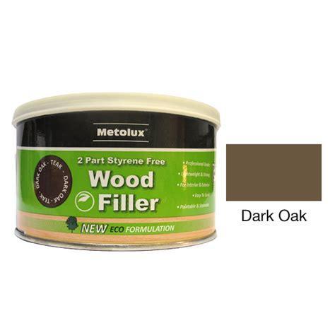 metolux  part styrene  wood filler ml dark oak