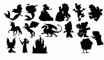 Fairytale Silhouettes Vector Silhouette Fairy Illustration Vectorish