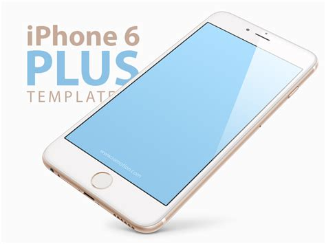 free iphone 6 plus iphone 6 plus template mockup psd by ramotion dribbble