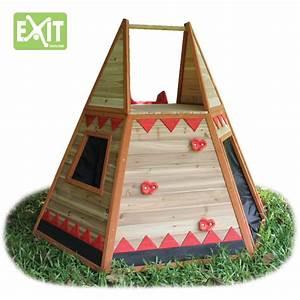 kinder spielhaus exit tipi kinderspielhaus ebay With französischer balkon mit tipi garten kinder