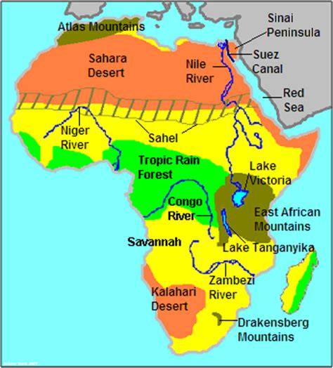 chapter  section  geography early africa
