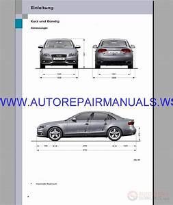 Audi A4 B8 Service  U0026 Repair Manual 1995