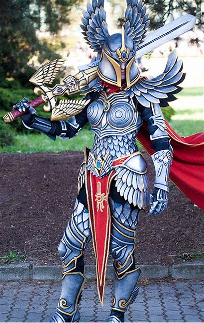 Cosplay Paladin Magic Heroes Might Armor Awesome