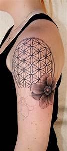 Off the Map Tattoo : Tattoos : Half-Sleeve : Flower of ...