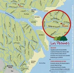 Mapa con la ubicacion exacta de la hosteria: fotografía de Los Pecanes, Tigre TripAdvisor