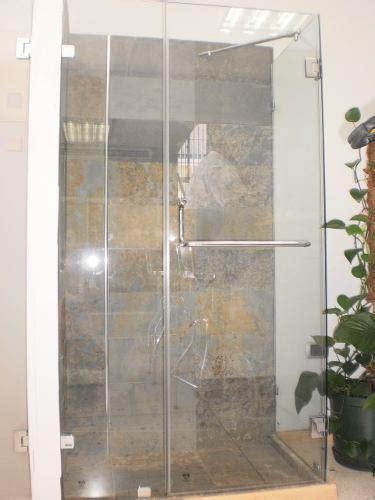 puertas de vidrio  banos