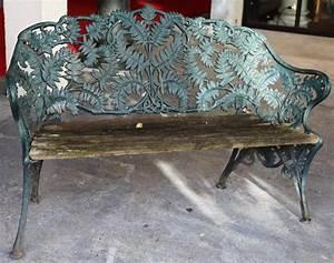 Banc De Jardin En Fonte : banc de jardin 1900 ~ Farleysfitness.com Idées de Décoration