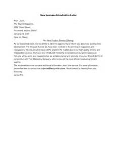 new letter of introduction new business introduction letter hashdoc