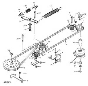 Craftsman Lt1000 Deck Belt Routing by Solved How To Fit Drive Belt To A Stx46 Lawn Tractor If