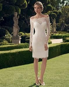 Tenue Mariage Automne : 70 id es avec la robe blanche dentelle en tendance ~ Melissatoandfro.com Idées de Décoration