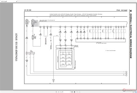 Lexus Electrical Wiring Diagram Auto