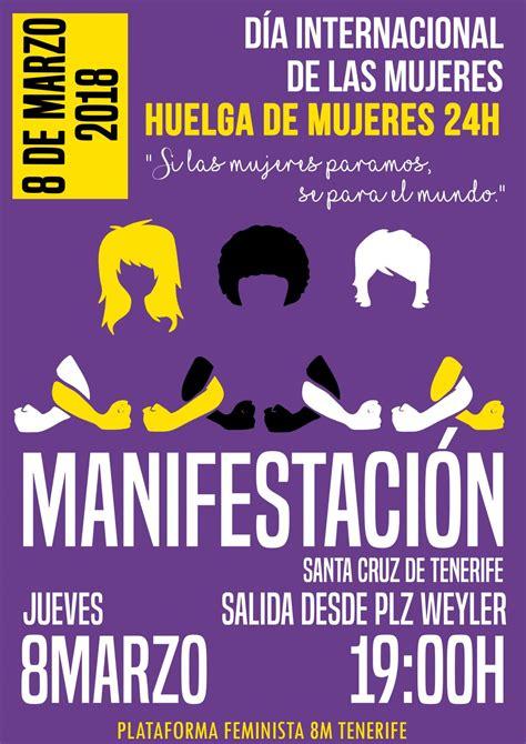 Resumen 8 De Marzo by 8m Tenerife Manifestaci 243 N Hacia La Huelga Feminista