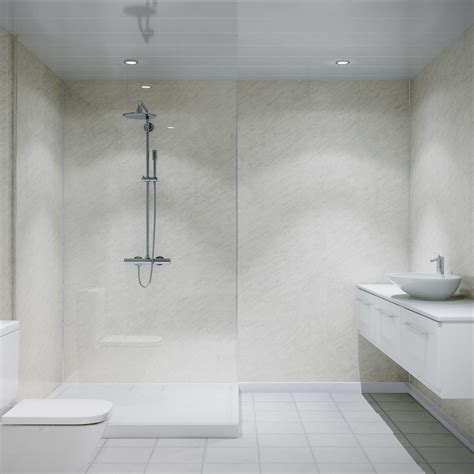multipanel classic marble unlipped bathroom wall panel