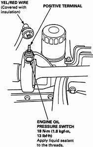 repair guides sending units oil pressure sender With oil cooler as well oil pressure sending unit wiring diagram on oil
