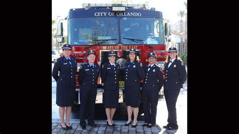 orlando women firefighters   uniforms  longer