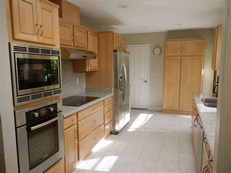 Galley Kitchen Makeovers Before And After Interior Concepts