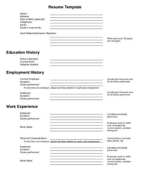Free Resume Filler by 461 Best Images About Resume Sles On Resume Builder Cover Letters And