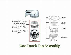 Sink Aerator Faucet For Saving Water
