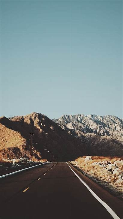 Usa Iphone Road Mountains Wallpapers Iphoneswallpapers