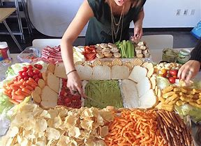 Image result for stock photos superbowl foods